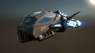 Fighter. Concept - Forgotten Star