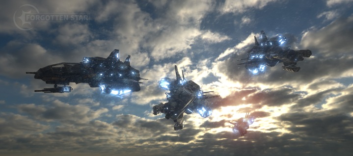 Vanguard Fighters. Look development (Unity 3D)