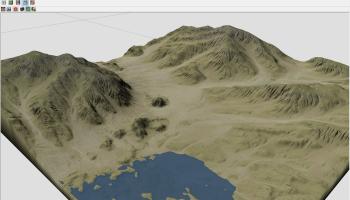 Create Terrains form Elevation maps in Houdini – Denes Dankhazi's