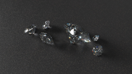 Diamonds with Iray